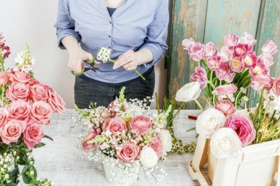 Compositions fleurs